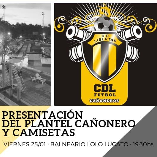 El 25 de Enero se presentará oficialmente al Cañonero