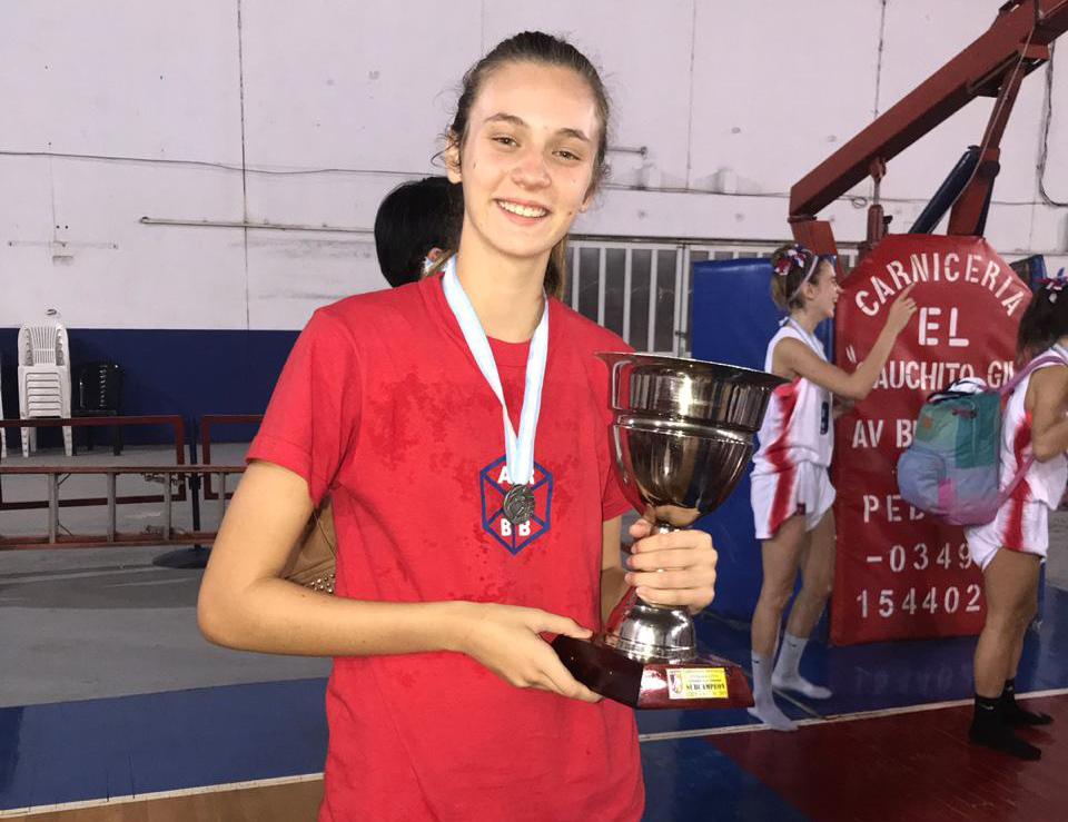 Lara Tribouley integra la Selección Provincial U15