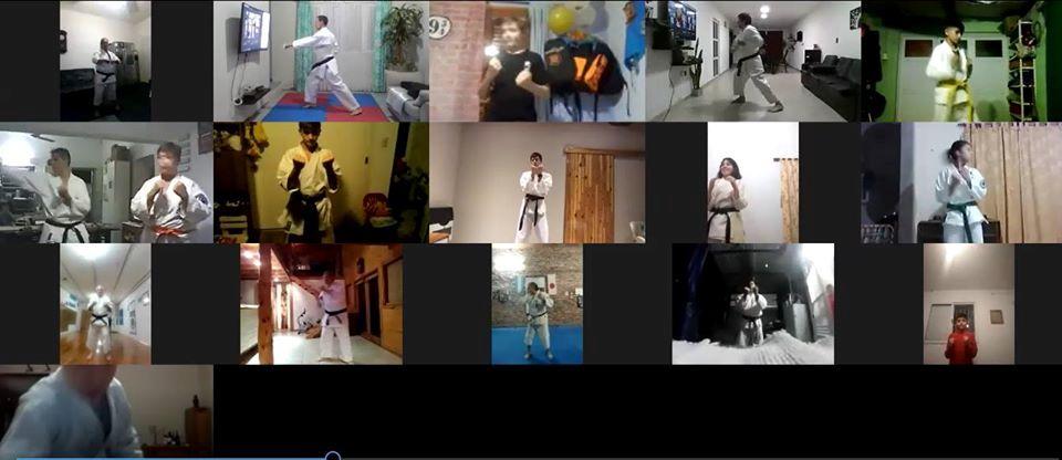 Exitoso Torneo Aniversario Virtual del Karate Do